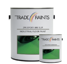2 Pack Epoxy Anti Slip Industrial Floor Paint